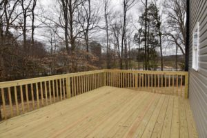 4714 Farm Bell back deck