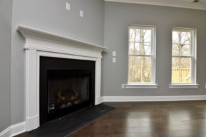 4714 Farm Bell fireplace