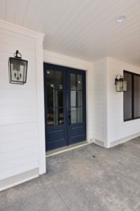 Front doors of 5822 Zinfandel St in The Arbors