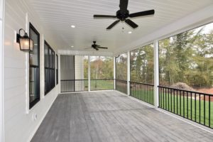 5822 Zinfandel St in The Arbors, back porch