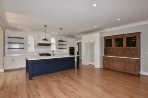 5822 Zinfandel St in The Arbors, custom cabinets in kitchen