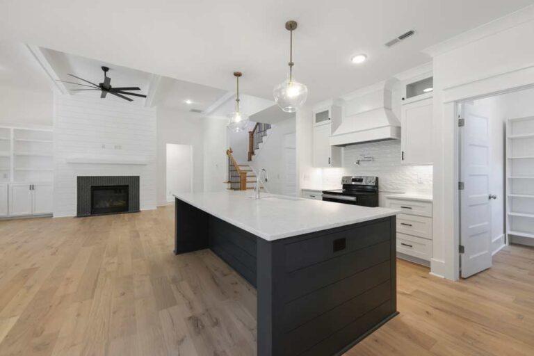 5834 Zinfandel St kitchen island