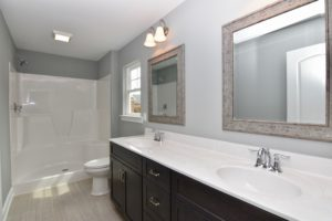 4714 Farm Bell master bath with double vanities