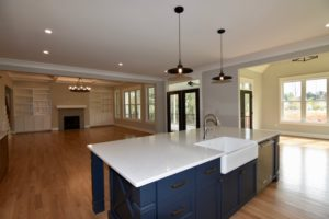 5822 Zinfandel St in The Arbors, Kitchen island to living room